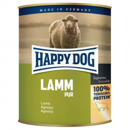Blikje Lam Pur Happy Dog 4001967021868