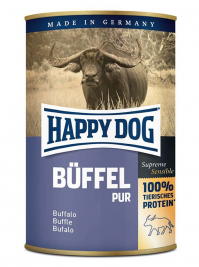 Dose Büffel Pur Happy Dog  4001967043549