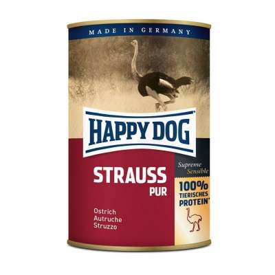 Happy Dog Voi Strutsin liha  200 g, 400 g, 800 g