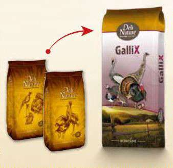 Deli Nature GalliX Turkey Wachstumspellet  25 kg