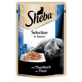Sheba Selection in Sauce s Tuňákem  85 g
