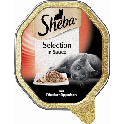 Sheba Selection in Sauce Oxkött 85 g