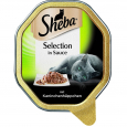 Sheba Selection in Sauce with Rabbit Chunks 85 g