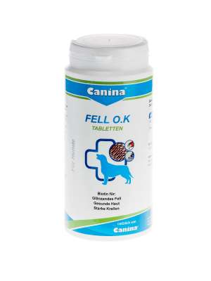 Canina Pharma Fell O.K. Tabletten  250 g, 2 kg, 1 kg