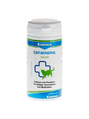 Canina Pharma Cat-Mineral Pulver 75 g, 150 g