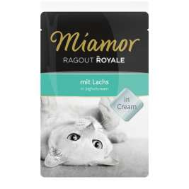 Ragout Royale Lachs in Joghurtcream von Miamor 100 g EAN: 4000158730411
