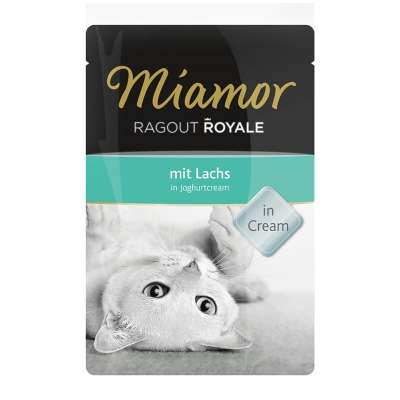 Miamor Ragout Royale Lachs in Joghurtcream