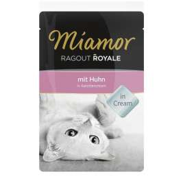 Ragout Royale Huhn in Karottencream von Miamor 100 g EAN: 4000158730442