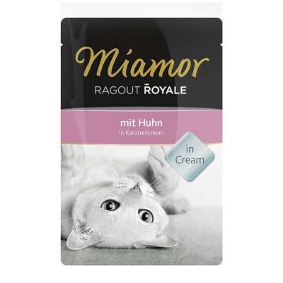 Miamor Ragout Royale Huhn in Karottencream