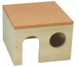 Elmato Hamster House with Coloured Roof Hamster Sleep House