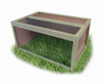 Tortoise Enclosure with Lid  117x78x58  cm marki Elmato