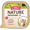 Schmusy Nature Balance Kitten Veau & Volaille 100 g