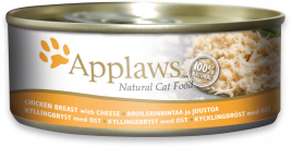 Natural Cat Food Hühnchenbrust & Käse von Applaws 156 g EAN: 5060122490214