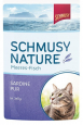Bustina Nature Pesce dell'Atlantico Sardina pura in Jelly Schmusy 100 g