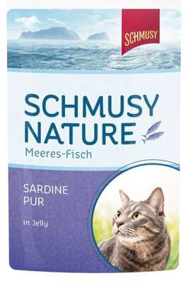 Natural Ocean Fish Sardine pure in Jelly Schmusy 100 g osta ... dad6048143