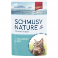 Schmusy Natural Ocean Fish Tuna & Rice 100 g - Kattmat med fisk