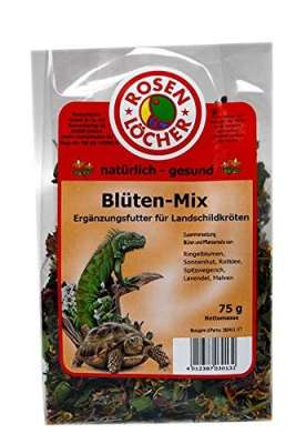 Rosenlöcher Flower Mix for Tortoises  75 g