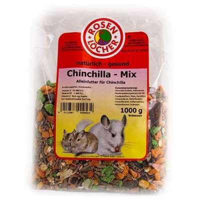 Rosenlöcher Chinchilla Mix  25 kg, 2.5 kg, 1 kg