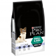 Pro Plan Small & Mini Adult 9+ OptiAge rich in Chicken  3 kg  van Honden
