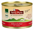 Terra Pura Organic Beef Meal 200 g - Food for mature cats