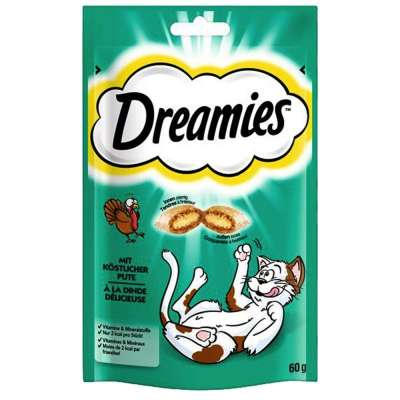 Dreamies Classic with Turkey Kalkun 60 g