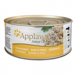 Natural Cat Food Hühnchenbrust von Applaws 70 g EAN: 5060122490016