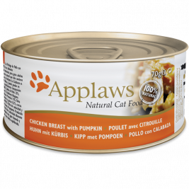 Applaws Natural Cat Food Chicken Breast with Pumpkin  70 g