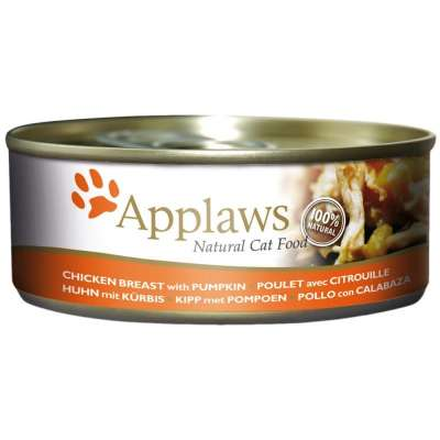 Applaws Natural Cat Food Chicken Breast with Pumpkin 70 g, 156 g