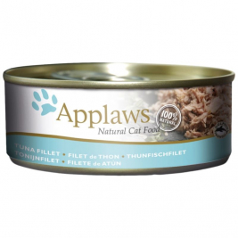Natural Cat Food Thunfischfilet von Applaws 156 g EAN: 5060122490184