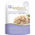 Applaws Natural Cat Food Pollo con Fegato in Jelly 70 g economico