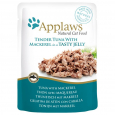 Natural Cat Food Tonno con Sgombro in Jelly Applaws 70 g