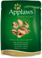 Applaws Sachet Natural Cat Food Blanc de Poulet et Asperge en Bouillon 70 g pas chères