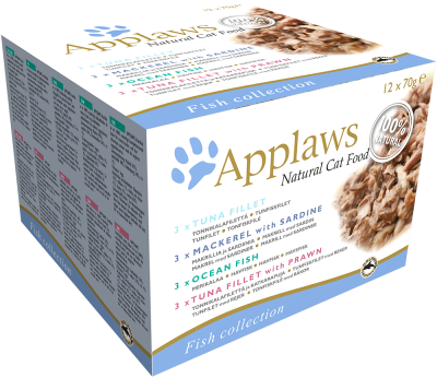 Applaws Natural Cat Food Fisch Collection Multipack 12x70 g