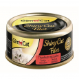 Shinycat Filet with Tuna + Salmon GimCat 70 g