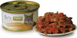Care Cat Tuna, Carrot & Pea Brit  8594031443049