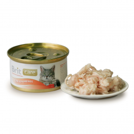 Care Cat Chicken Breast Brit  8594031443063