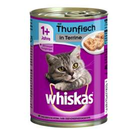 1+ Terrine mit Thunfisch Whiskas  4008429067891