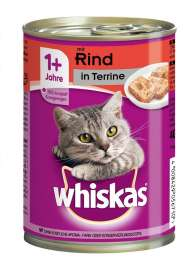 1+ Terrine mit Rind Whiskas  4008429031694