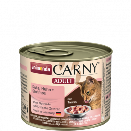 Animonda Carny Adult with Turkey, Chicken and Shrimps  200 g