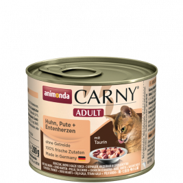 Animonda Carny Adult with Chicken, Turkey and Duckheart  200 g