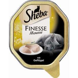 Finesse Mousse avec Volaille Sheba 3065890123601