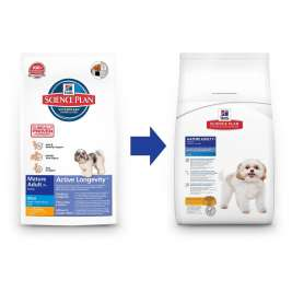 Hill's Science Plan Canine Mature Adult 7+ Active Longevity Mini Kana 3 kg verkkokauppa