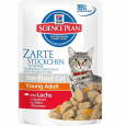 Science Plan Feline Sterilised Young Adult met Zalm Hill's 85 g
