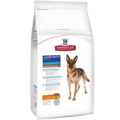 Hill's Science Plan Canine Mature Adult 5+ Active Longevity Large Breed con Pollo  3 kg, 12 kg