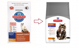 Hill's Science Plan Feline Mature Adult 7+ Hairball Control cu Pui 1.5 kg magazin online