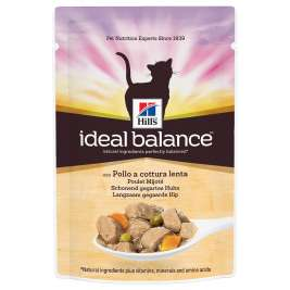Ideal Balance Feline Adult with Chicken and Vegetables Hill's 0052742000381
