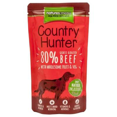 Natures Menu Country Hunter Weiderind  150 g