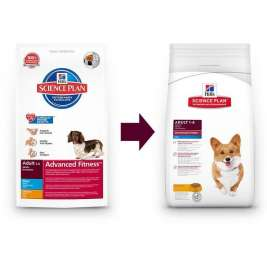 Hill's Science Plan Canine Adult Advanced Fitness Mini med Kylling  800 g