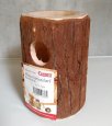 Elmato Wooden Cave without Feed Bowl  12x12x17 cm