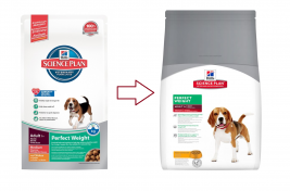 Hill's Science Plan Canine - Adult Perfect Weight Medium mit Huhn 10 kg Online Shop